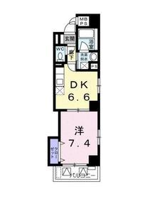 ボヌール・ゾー2階Fの間取り画像