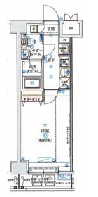SHOKEN Residence横浜WEST1階Fの間取り画像