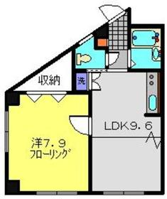 TANAKA HOUSE1階Fの間取り画像