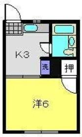 RHO'S HOUSE2階Fの間取り画像