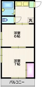 上野毛駅 徒歩28分1階Fの間取り画像