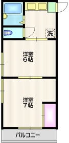 二子新地駅 徒歩34分1階Fの間取り画像