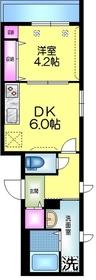 (仮称)平井5丁目Tマンション2階Fの間取り画像