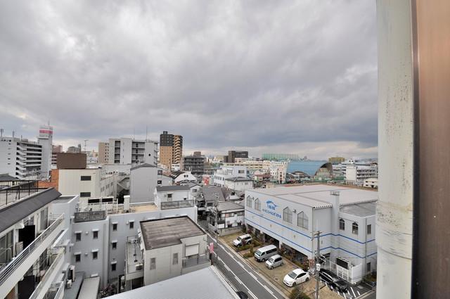 アバンティ八戸ノ里 この見晴らしが日当たりのイイお部屋を作ってます。