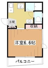 The452階Fの間取り画像