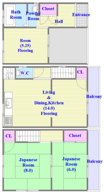 柏田東町2-37貸家 一戸建にこだわるファミリーの為の物件です。