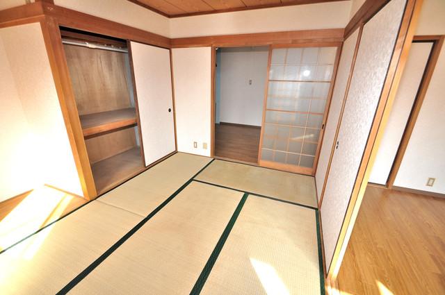 ニッコーハイツ俊徳 もうひとつのくつろぎの空間、和室も忘れてません。