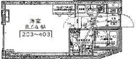 アーバンステージ千石Ⅱ2階Fの間取り画像