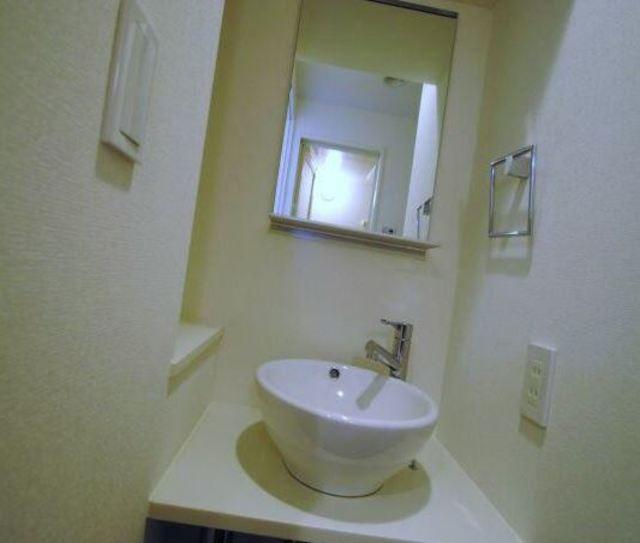 ライズコート東京イースト洗面所