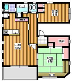 和光市駅 徒歩2分2階Fの間取り画像