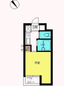 スカイコート文京小石川第21階Fの間取り画像