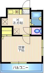 中目黒駅 徒歩12分1階Fの間取り画像
