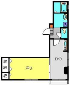 クリア1階Fの間取り画像