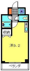 ティーリーフ横浜レジーナ3階Fの間取り画像