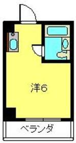 日吉駅 徒歩5分3階Fの間取り画像