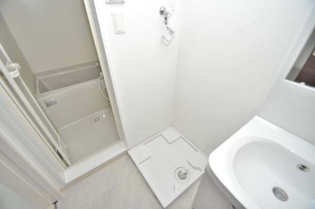 E maison 巽東 広めのお風呂は一日の疲れを癒してくれます。