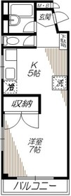 大崎広小路駅 徒歩11分4階Fの間取り画像