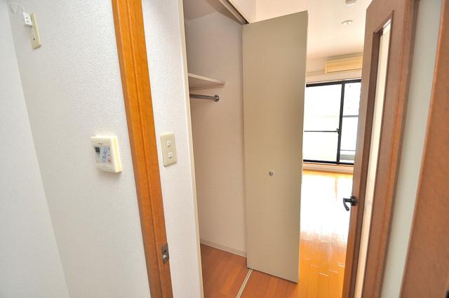 メゾン・ド・ヴィレ 深江 もちろん収納スペースも確保。お部屋がスッキリ片付きますね。