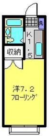 エステートピアAKAISHI1階Fの間取り画像