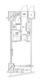 神奈川駅 徒歩1分6階Fの間取り画像