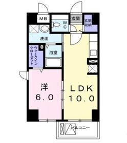 川崎駅 徒歩29分3階Fの間取り画像