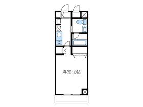 シークエンス7階Fの間取り画像