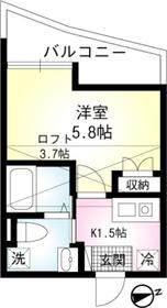 エルム山手2階Fの間取り画像