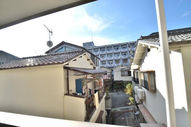 ラモーナ巽南 この見晴らしが日当たりのイイお部屋を作ってます。