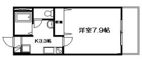 メゾン ド ロハス1階Fの間取り画像