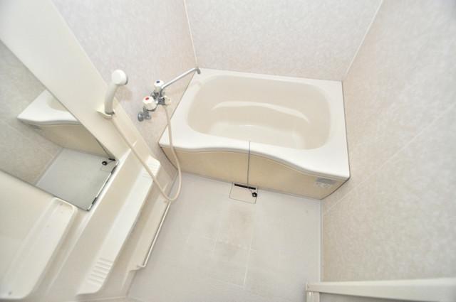 ジャルディーノ弐番館 ちょうどいいサイズのお風呂です。お掃除も楽にできますよ。