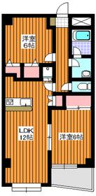 新高島平駅 徒歩21分1階Fの間取り画像