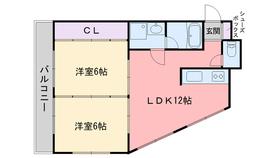 阿南ビル3階Fの間取り画像