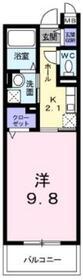 田奈駅 徒歩21分1階Fの間取り画像