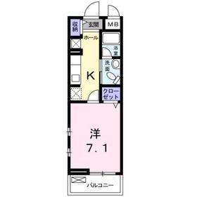 レガーロ R&M4階Fの間取り画像