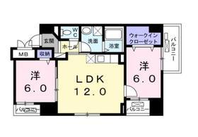 さがみ野駅 徒歩23分7階Fの間取り画像
