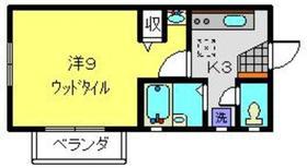 アネックス星川Ⅱ1階Fの間取り画像