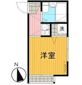 鶴ヶ峰駅 徒歩15分1階Fの間取り画像