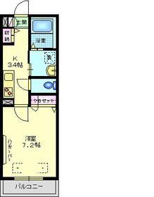 STELLAR2階Fの間取り画像