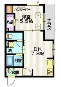 立会川駅 徒歩7分1階Fの間取り画像