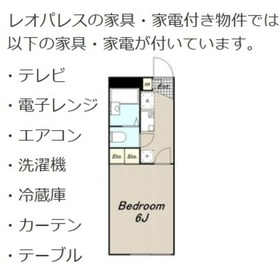 読売ランド前駅 徒歩10分2階Fの間取り画像