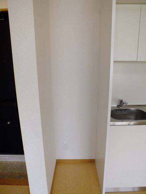 ▲冷蔵庫設置可能で自炊の幅が広がります▲