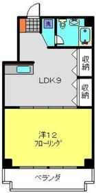 阪東橋駅 徒歩6分8階Fの間取り画像