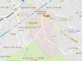 二俣川駅 徒歩13分案内図