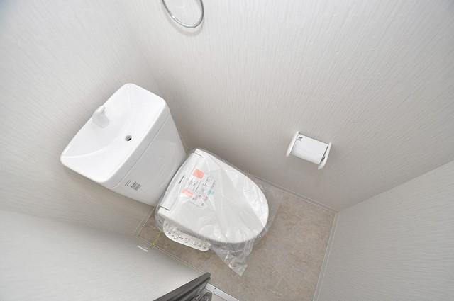 エム・ステージ今里 清潔感のある爽やかなトイレ。誰もがリラックスできる空間です。