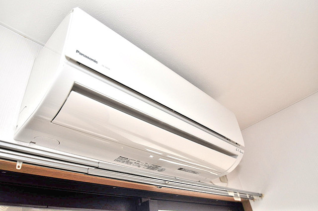 YMSマンション うれしいエアコン標準装備。快適な生活が送れそうです。