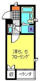元住吉駅 徒歩5分1階Fの間取り画像