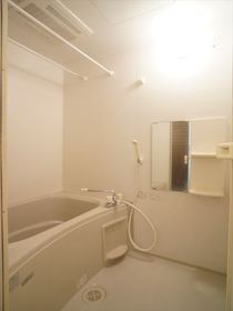 清潔感のあるバスルーム♪
