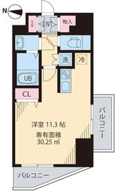 ルアナ亀戸7階Fの間取り画像