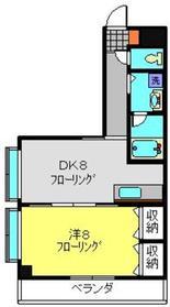 中川駅 徒歩1分3階Fの間取り画像