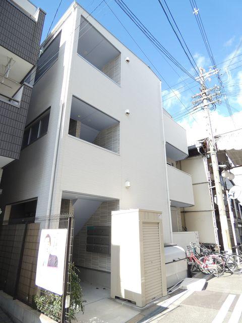 大阪市大正区三軒家西2丁目の賃貸アパートの外観